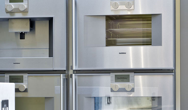 Custom fitted quality Gaggenau kitchen appliances in Chelsea SW7